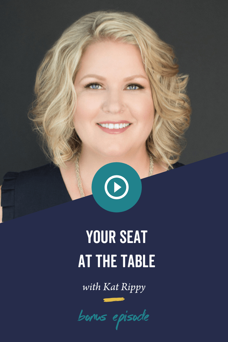 BONUS: Your Seat at the Table